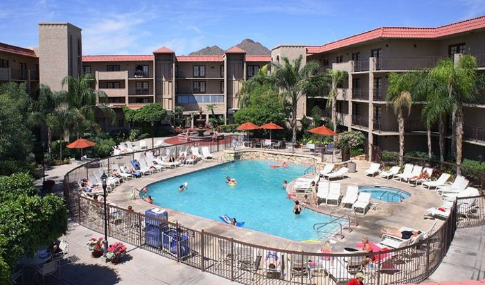 Chaparral Suites Pool area